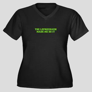 The leprechaun made me do it-Fre l green Plus Size