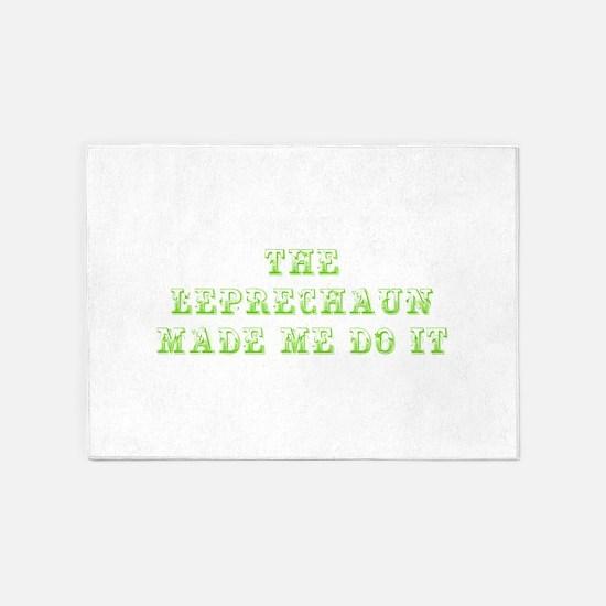 The leprechaun made me do it-Max l green 500 5'x7'