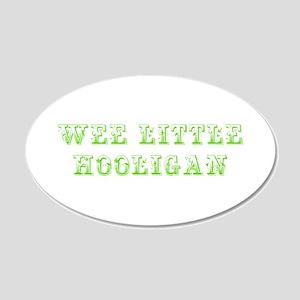 Wee little hooligan-Max l green 500 Wall Decal