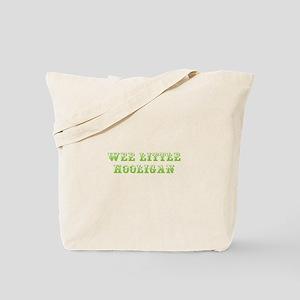 Wee little hooligan-Max l green 500 Tote Bag