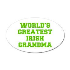World s Greatest Irish Grandma-Fre l green 400 Wal