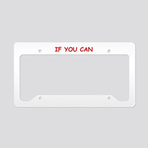 tax License Plate Holder