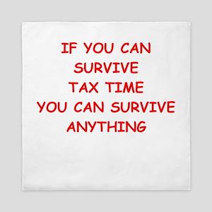 tax Queen Duvet