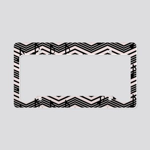 Showtime Chevron License Plate Holder
