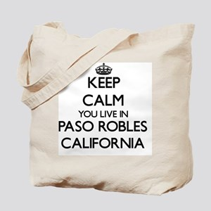 Keep calm you live in Paso Robles Califor Tote Bag