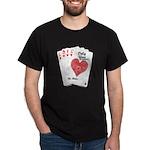 Suite Hearts Dark T-Shirt