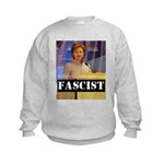 Clinton = Fascist Kids Sweatshirt