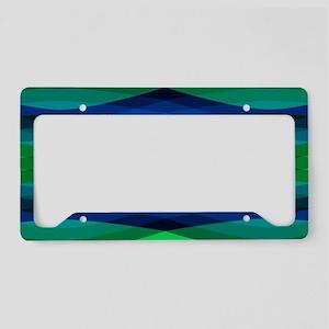 Trippy Pond Ripples License Plate Holder
