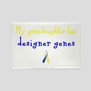 Designer Genes Grandaughter Ribbon Rectangle Magne