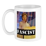 Clinton = Fascist Mug