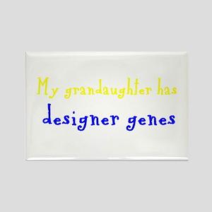 Designer Genes Grandaughter Rectangle Magnet