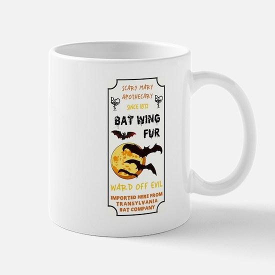 BAT WING FUR Mugs