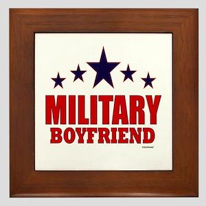Military Boyfriend Framed Tile