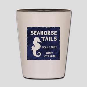 SEAHORSE TAILS Shot Glass