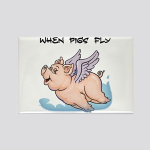 When pigs fly Magnets