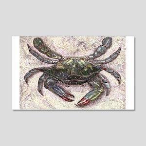 Chesapeake Bay Blue Crab Wall Decal