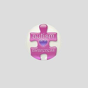 Autism Awareness (P) Mini Button
