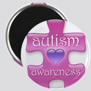 Autism Awareness (P) Magnet