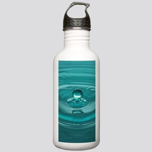 Turquoise WaterDrop Stainless Water Bottle 1.0L