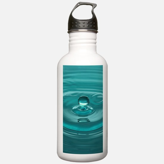 Turquoise WaterDrop Water Bottle