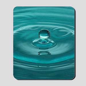 Turquoise WaterDrop Mousepad