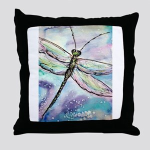 Dragonfly! Nature art! Throw Pillow