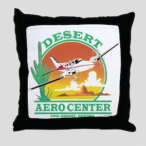 DESERT AERO CENTER Throw Pillow