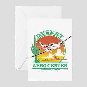DESERT AERO CENTER Greeting Cards (Pk of 10)
