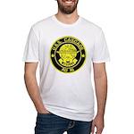 USS CASCADE Fitted T-Shirt