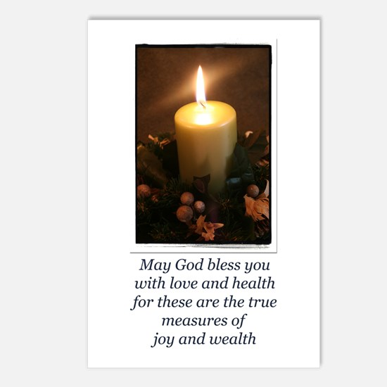 Love and Health Blessing Postcards (Package of 8)