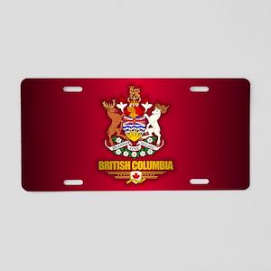 British Columbia COA Aluminum License Plate