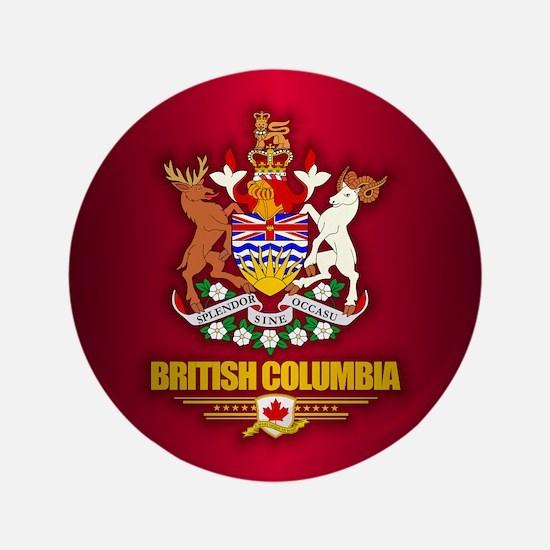 """British Columbia COA 3.5"""" Button"""