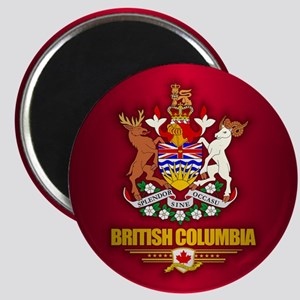 British Columbia COA Magnets