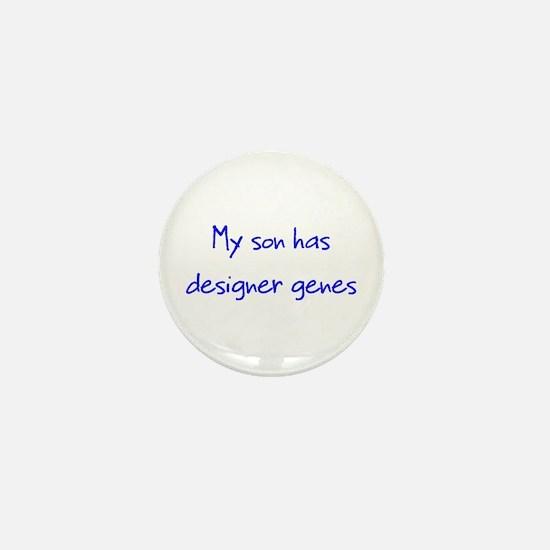 Designer Genes Son Mini Button