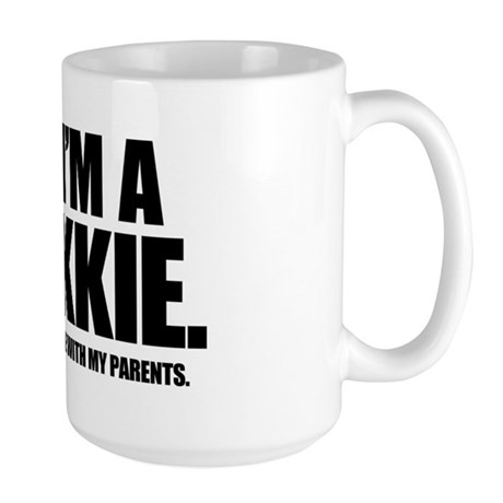 YES, I'M A TREKKIE - Large Mug