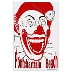 Pontchartrain Beach Large Poster