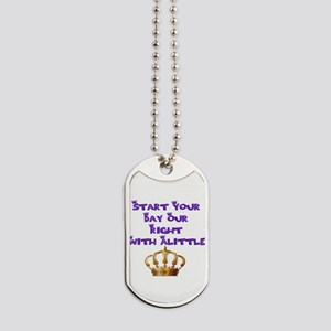 Alittle Crown Dog Tags