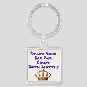 Alittle Crown Square Keychain Keychains