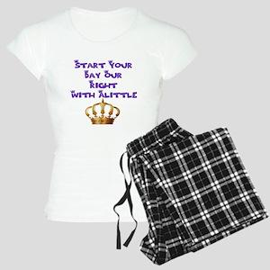 Alittle Crown Women's Light Pajamas