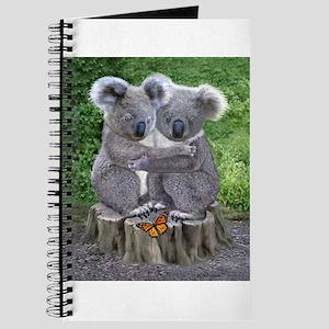 BABY KOALA HUGGIES Journal