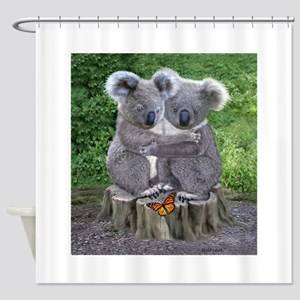 BABY KOALA HUGGIES Shower Curtain