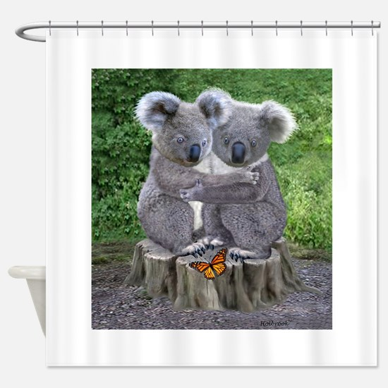 BABY KOALA HUGGIES Shower Curtain