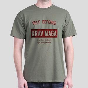 Self Defense Krav Maga - Learn from the Street T-S
