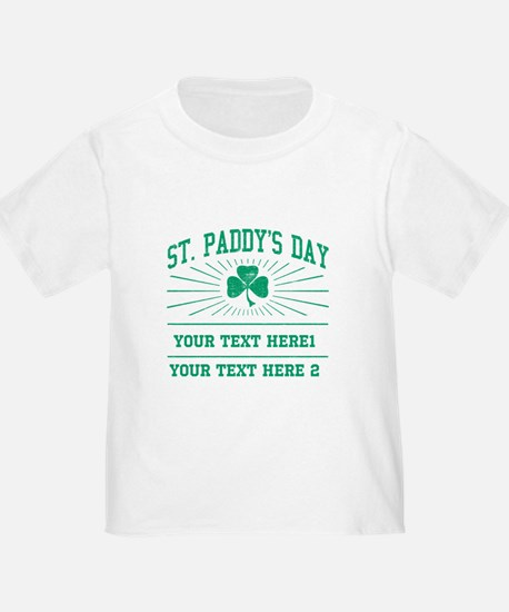St Paddy's day [editable] T