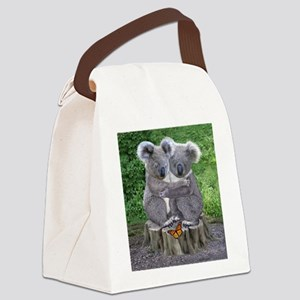 BABY KOALA HUGGIES Canvas Lunch Bag