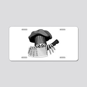 Chef Humor Aluminum License Plate