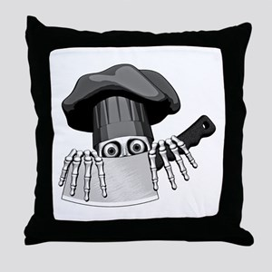 Chef Humor Throw Pillow