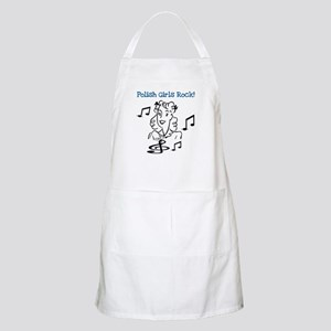 Polish Girls Rock BBQ Apron