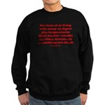 Black Interior Cars Sweatshirt (dark)