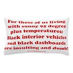 Black Interior Cars Pillow Case